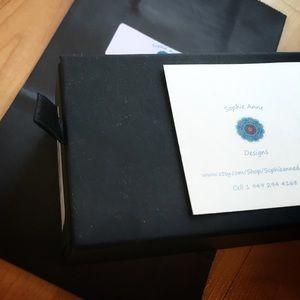 Sophie Anne Designs Jewelry - Capricorn Lapis Lazuli Bracelet